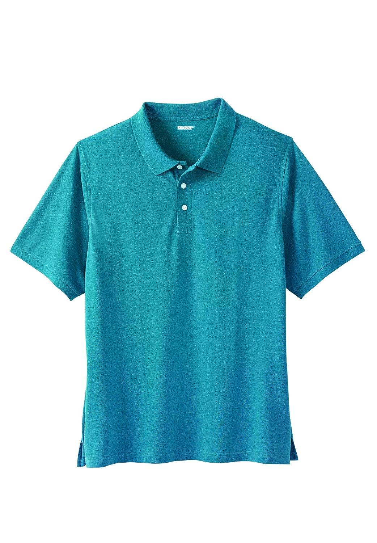 ac562336 Amazon.com: KingSize Men's Big & Tall Pique Polo Shirt: Clothing