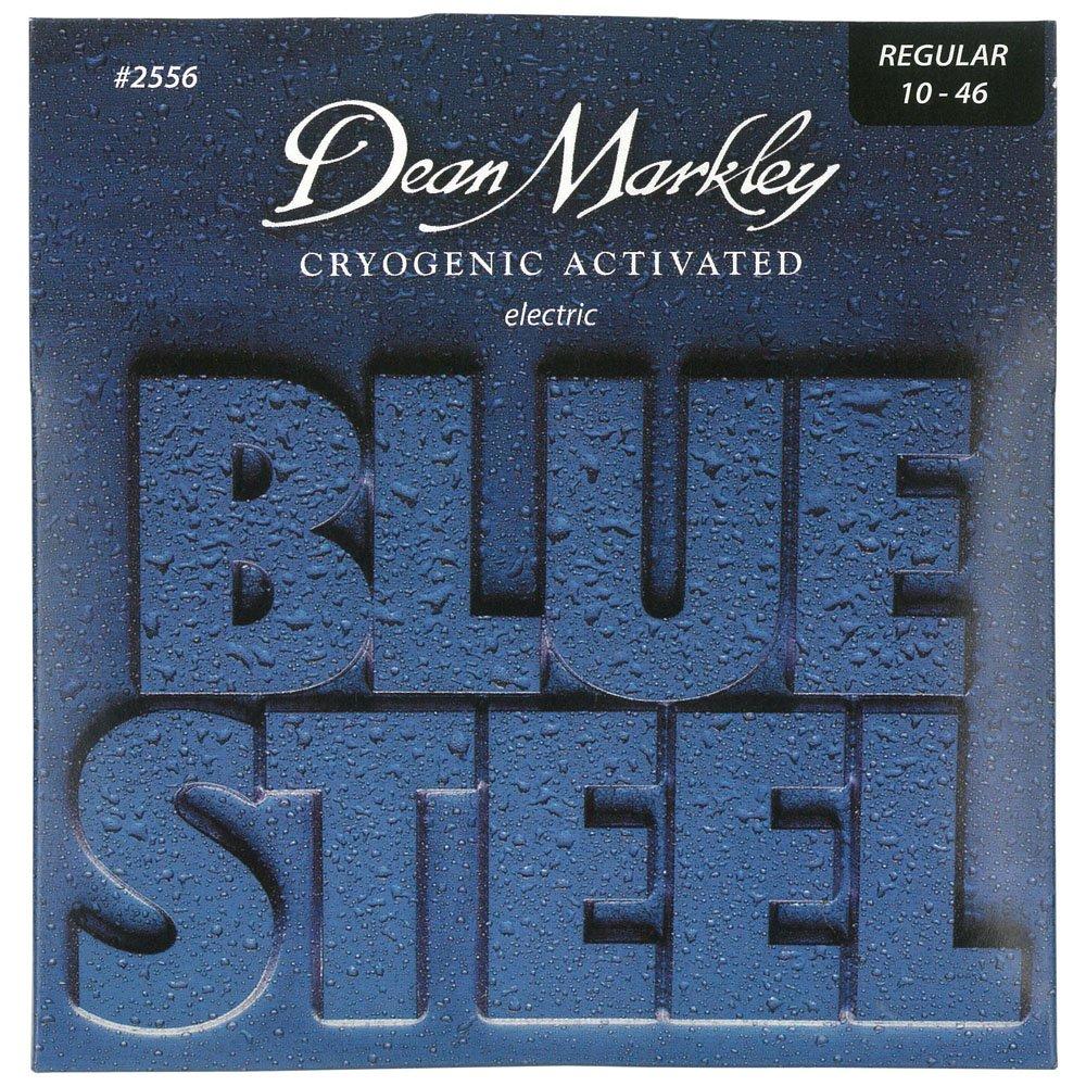 Dean Markley Blue Steel Electric REG 2556 - Juego de cuerdas para guitarra eléctrica de acero