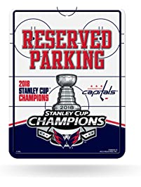 Rico Industries NHL Washington Capitals 2018 Stanley Cup Champions 8-Inch  by 11-Inch db3f9a947