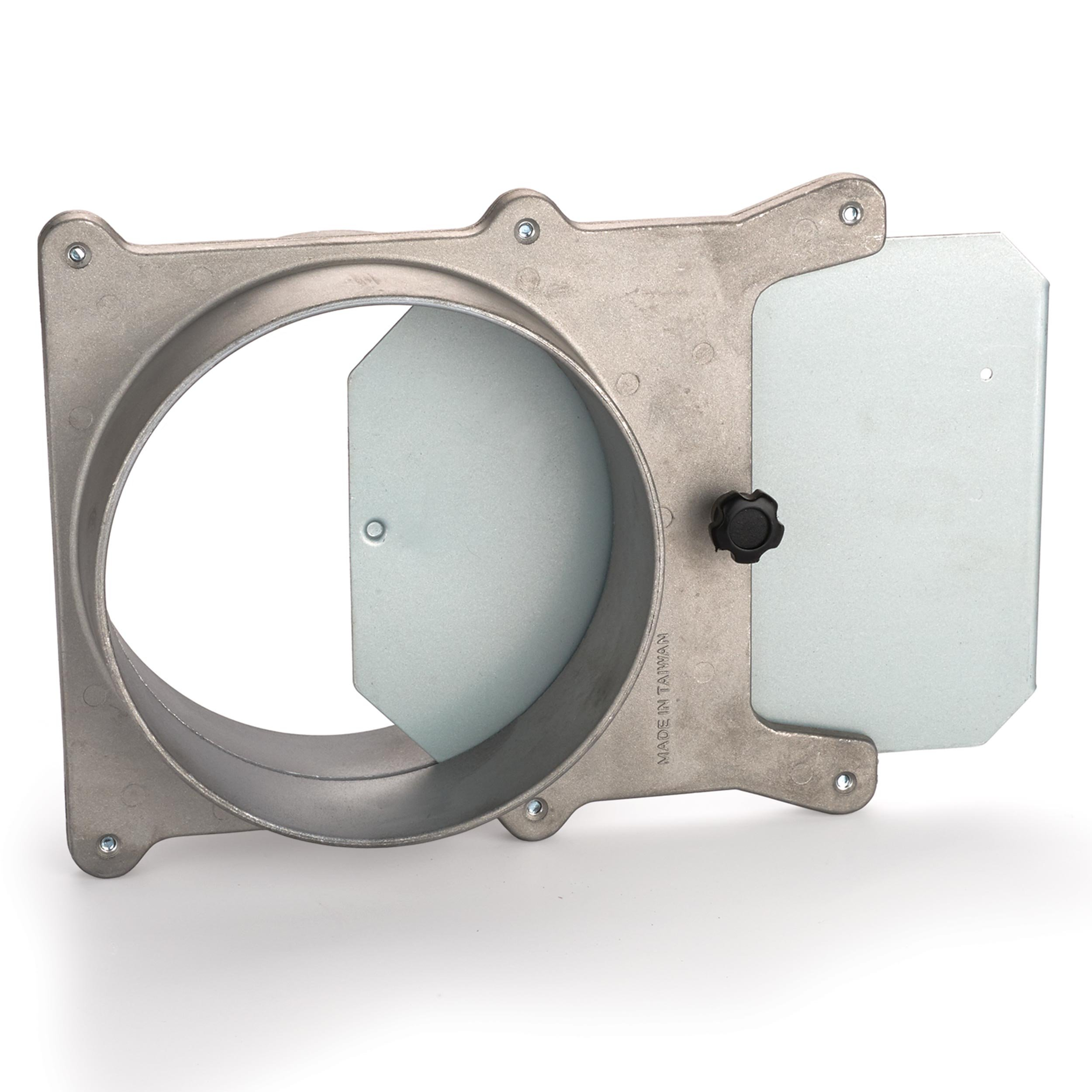 6'' Aluminum Blast Gate Dust Collection Fitting
