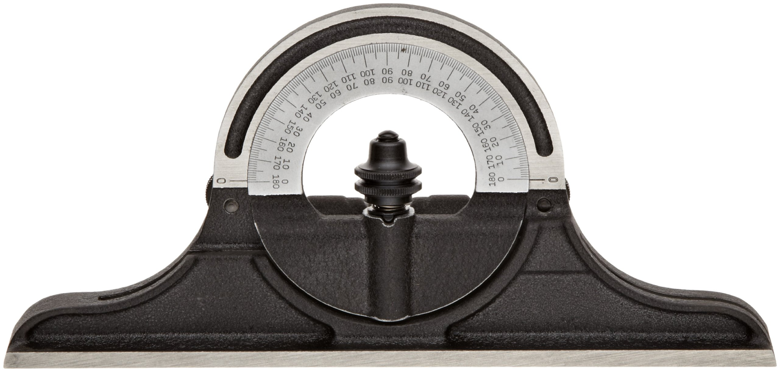 Starrett CPR-1224W Cast Iron Reversible Protractor Head For Combination Squares, Combination Sets And Bevel Protractors by Starrett