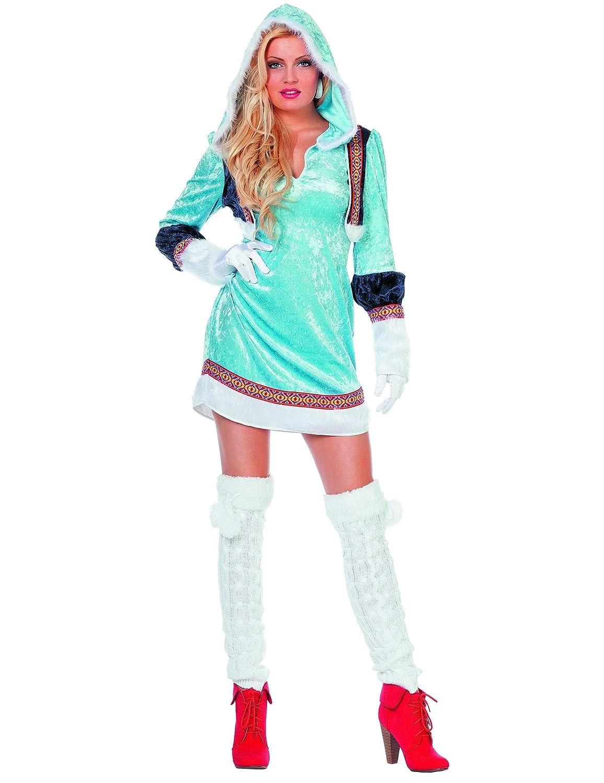 Disfraz esquimal azul sexy mujer Taille L: Amazon.es: Juguetes y ...