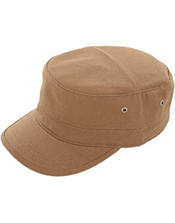 Duolaimi Cotton Cadet Army Military Cap Hats for Unisex Adult 4e1bfebc15fb