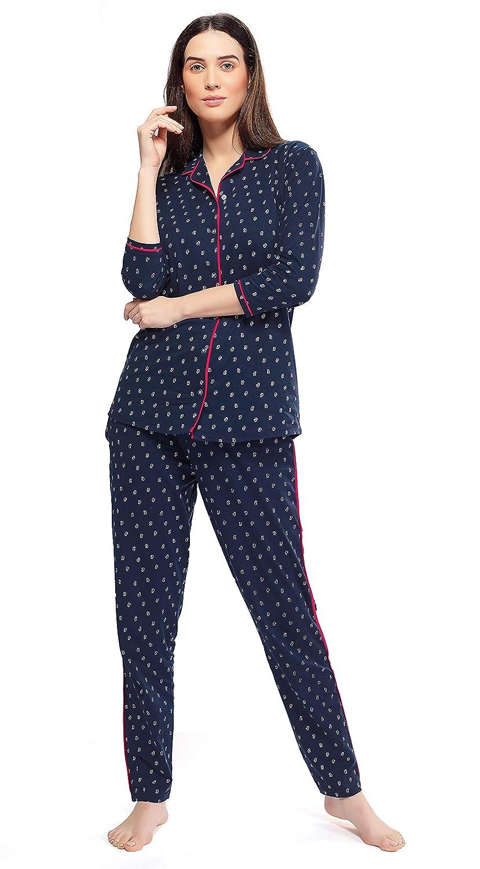 e4c852cd70cd ZEYO Women's Cotton Night Suit
