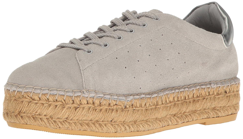 STEVEN by Steve Madden Women's Pace Fashion Sneaker B01N78W60S 9 B(M) US Grey Suede