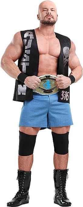 Rubies WWE Stone Cold Steve Austin Kids Halloween Fancy Dress Costume Outfit New