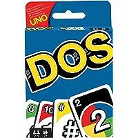 Mattel Games DOS, juego de cartas de UNO (Mattel FRM36)
