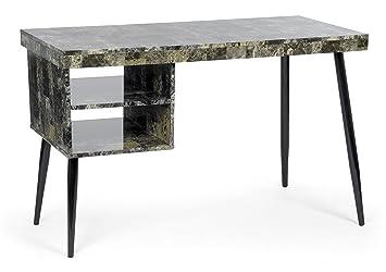 ts-ideen Design Holz Tisch Schreibtisch Bürotisch PC-Tisch Computer ...