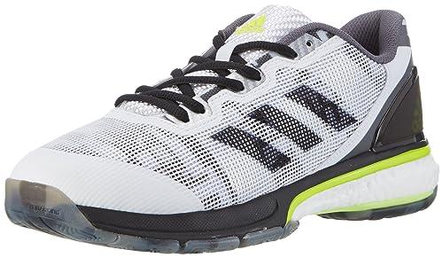 adidas Stabil Boost 20y, Zapatillas de Balonmano Hombre, Blanco (Bianco Ftwbla/negbas/amasol), 42 EU: Amazon.es: Zapatos y complementos