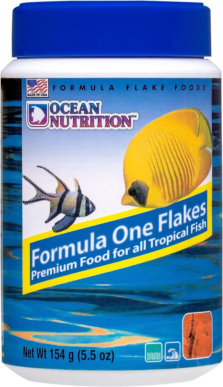 Ocean Nutrition Formula One Flakes 5.5-Ounces (154 Grams) Jar