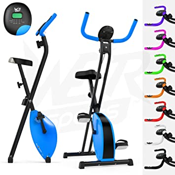 We R Sports X-Bike Blue - Elíptica de fitness (plegable, imán,