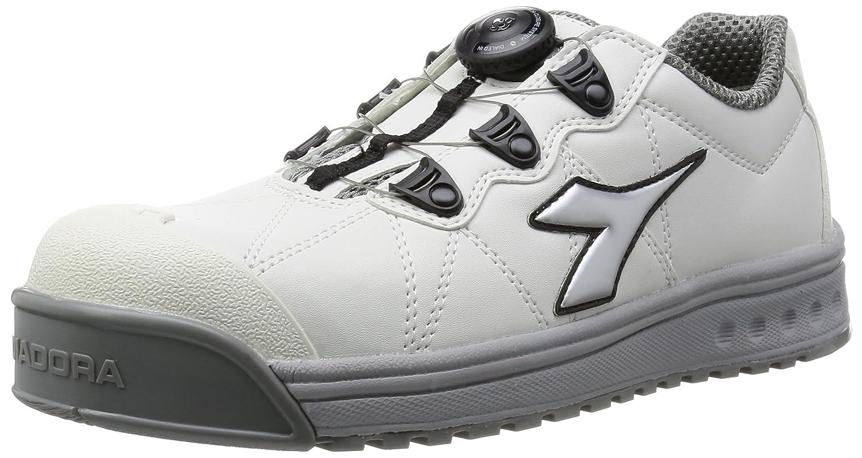 [ディアドラユーティリティ] DIADORA UTILITY 作業靴 スニーカー フィンチ B018XIGI2E 25.0 cm|ホワイト/シルバー/ホワイト ホワイト/シルバー/ホワイト 25.0 cm