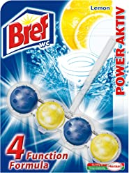 BREF WC Power Aktiv Lemon Cleaning Balls (10 Pack) by Bref