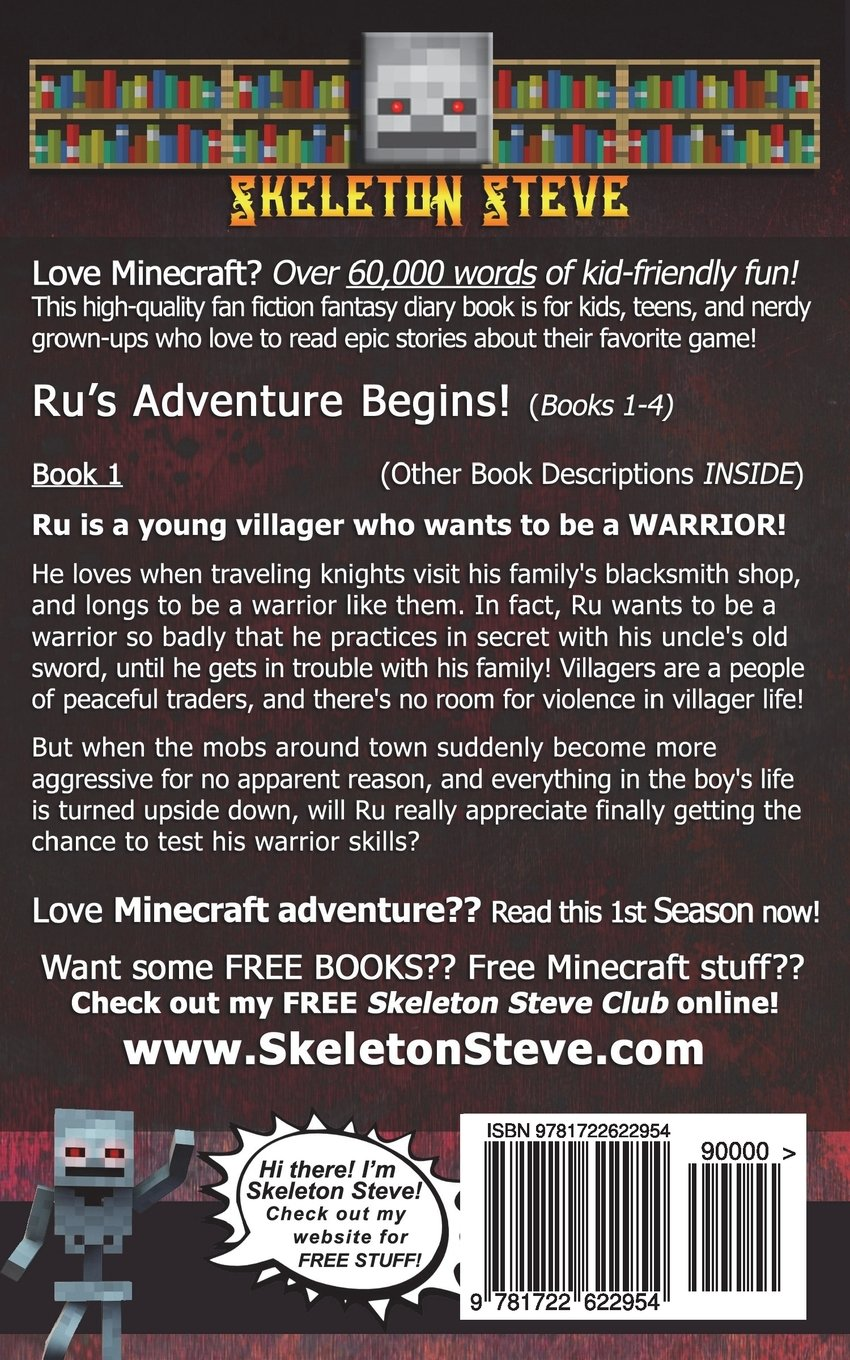 Diary of a Minecraft Warrior Villager - Rus Adventure ...