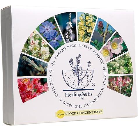 KIT DE FLORES DE BACH de 10ml , 38 Flores + 2 Rescate - HealingHerbs.: Amazon.es: Salud y cuidado personal