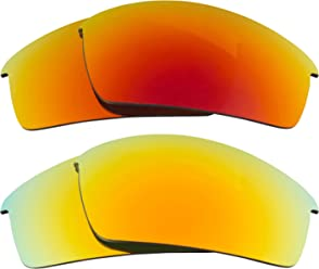 99206e2e83f Thump Pro Replacement Lenses Red   Yellow by SEEK fits OAKLEY Sunglasses