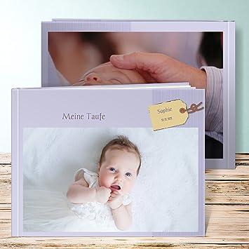 Fotobuch Taufe Anhänger 36 Seiten Hardcover 290x222 Mm