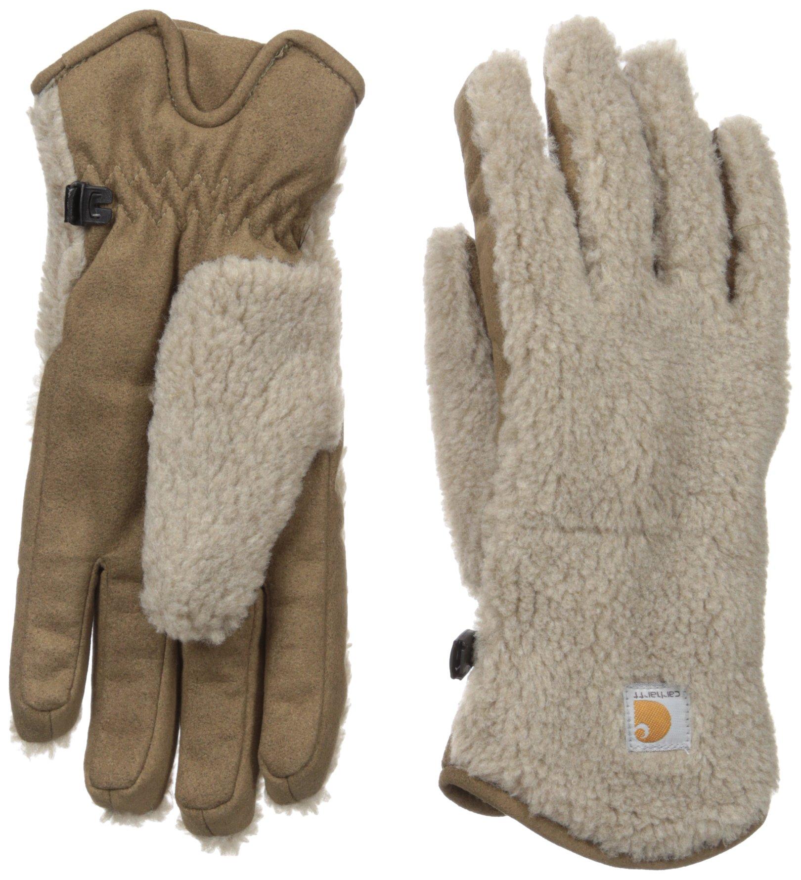 Carhartt Women's Sherpa Glove, Desert Sand, Small by Carhartt