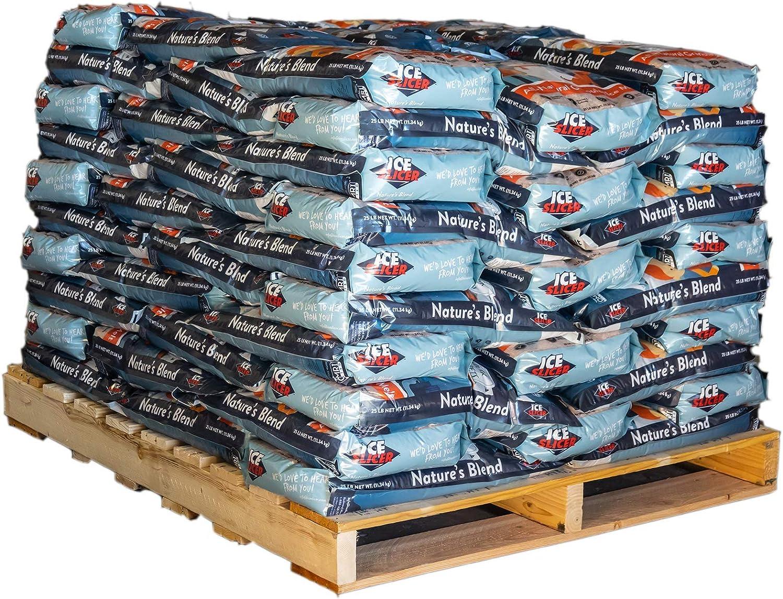 Kid /& Pet Safe Deicer 10 LB All-Natural Granular Ice Melt Ice Melt Salt REDMOND Ice Slicer