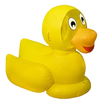 Swimline Giant Ducky Inflatable Ride On