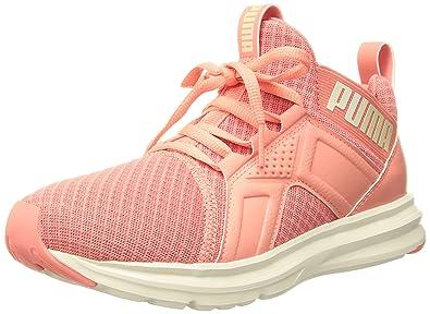 PUMA Women s Enzo Premium Mesh Wn Sneaker Shell Pink-Opalescence 5.5 M US 0007c1b02