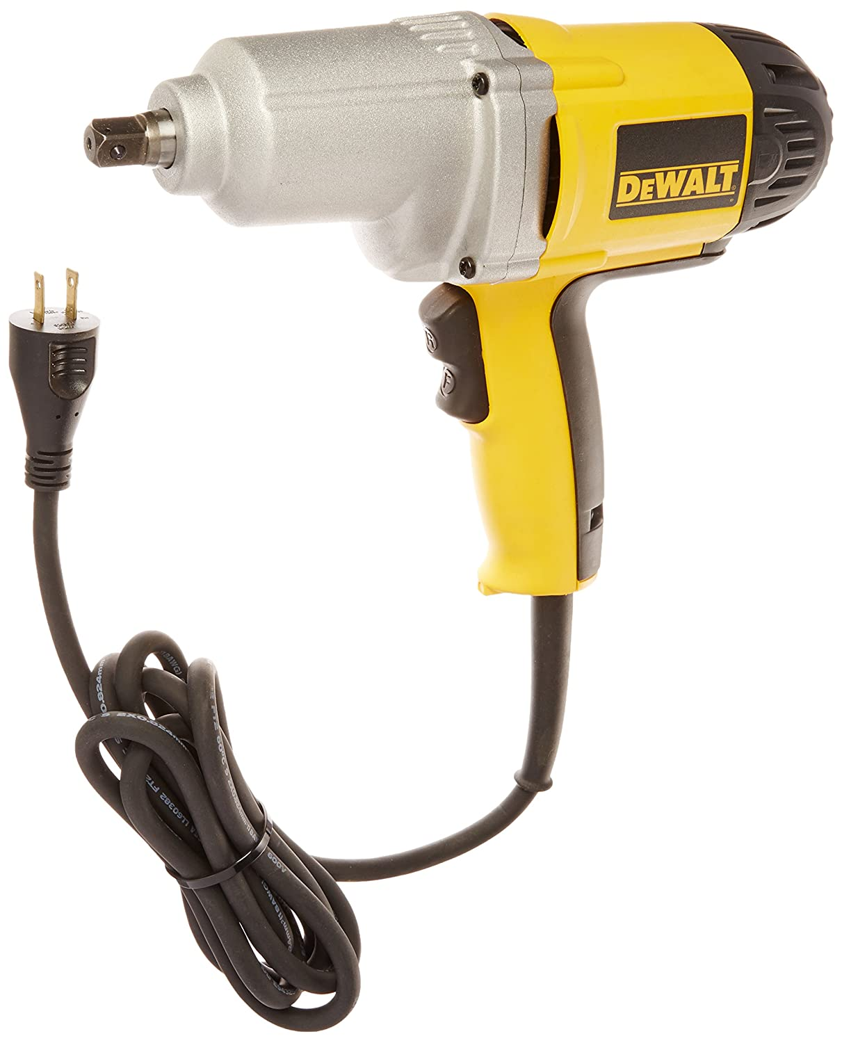 DEWALT DW292 7.5-Amp 1/2-Inch Impact Wrench with Detent Pin Anvil BLAA2