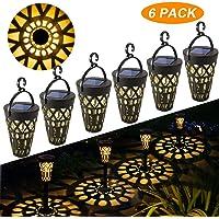 Lámpara Solare para Jardín GolWof 6 Piezas Luz Solar Exterior Impermeable Luces Solar Exterior Luces Exterior…