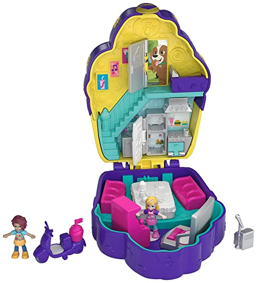 Polly Pocket Donut Pajama Party Compact