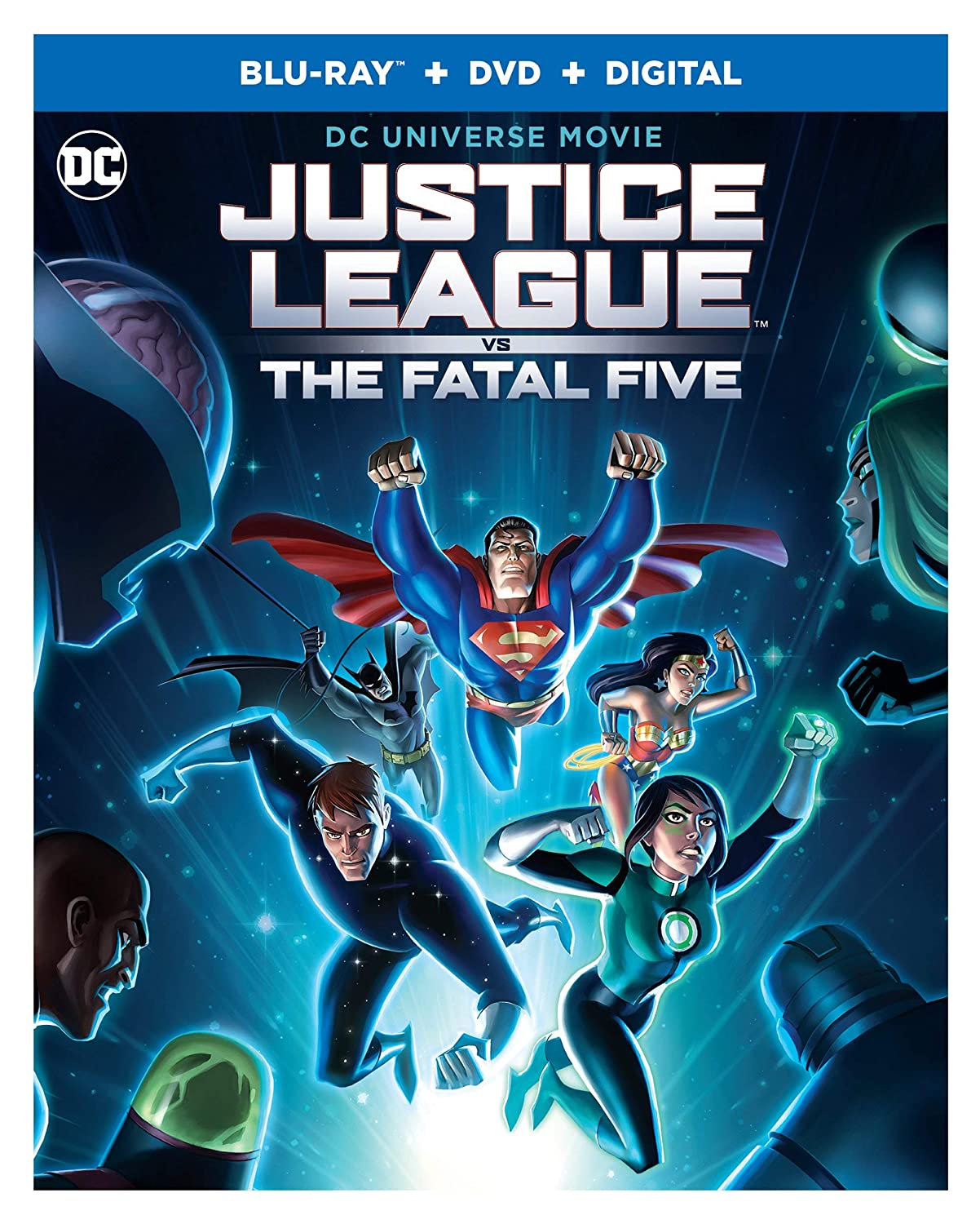 Amazon.com: Justice League vs. The Fatal Five (Blu-ray ...