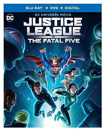 Amazon.com: Justice League vs. The Fatal Five (Blu-ray ...