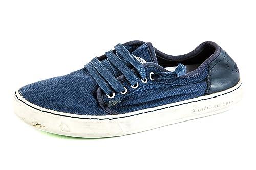 Satorisan Zapatillas de Lona para hombre Azul azul, color Azul, talla 41: Amazon.es: Zapatos y complementos