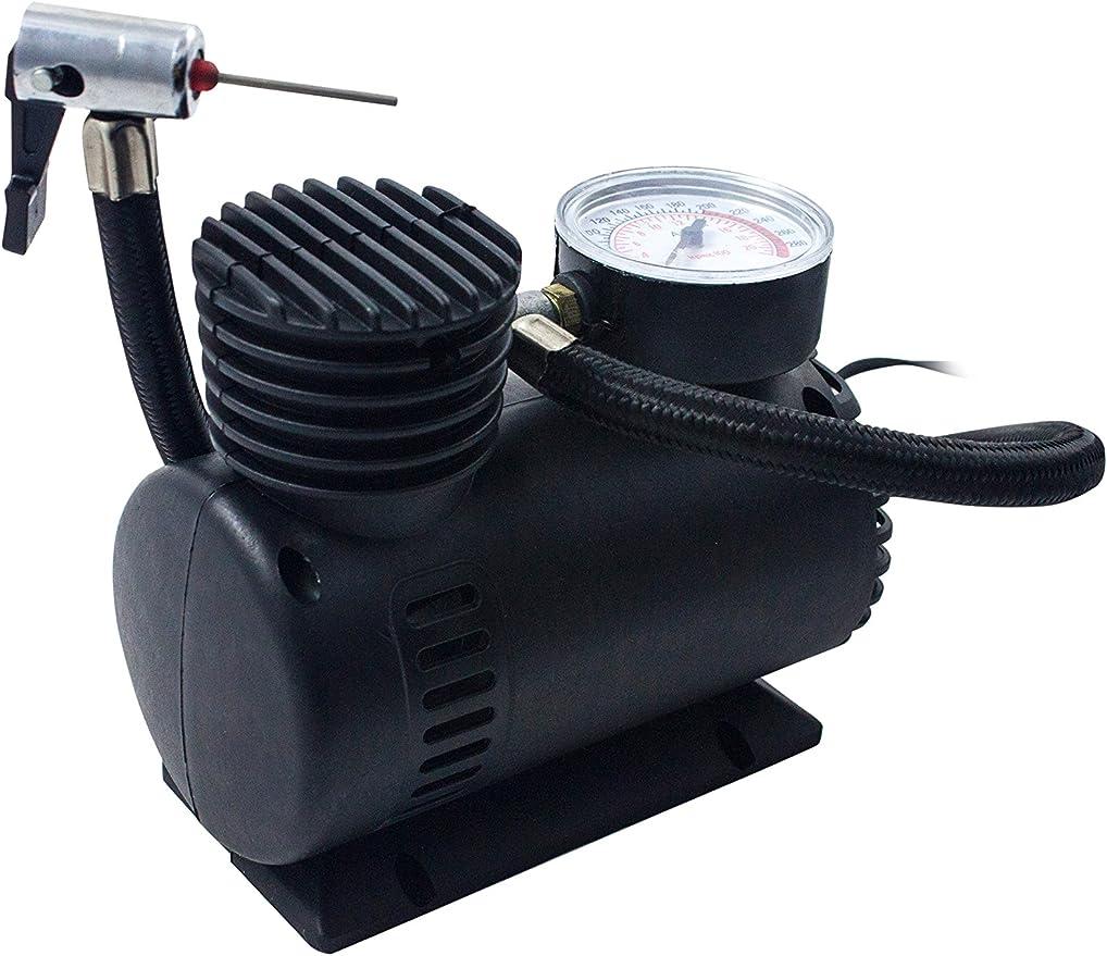 B&N Car Mini-BN1515 Compresor Aire, Negro, EST&ampaacutendar, 550: Amazon.es: Hogar