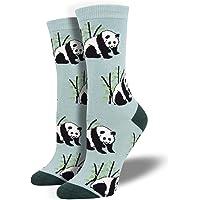 Socksmith Women's Panda Bear Novelty Bamboo Crew Socks