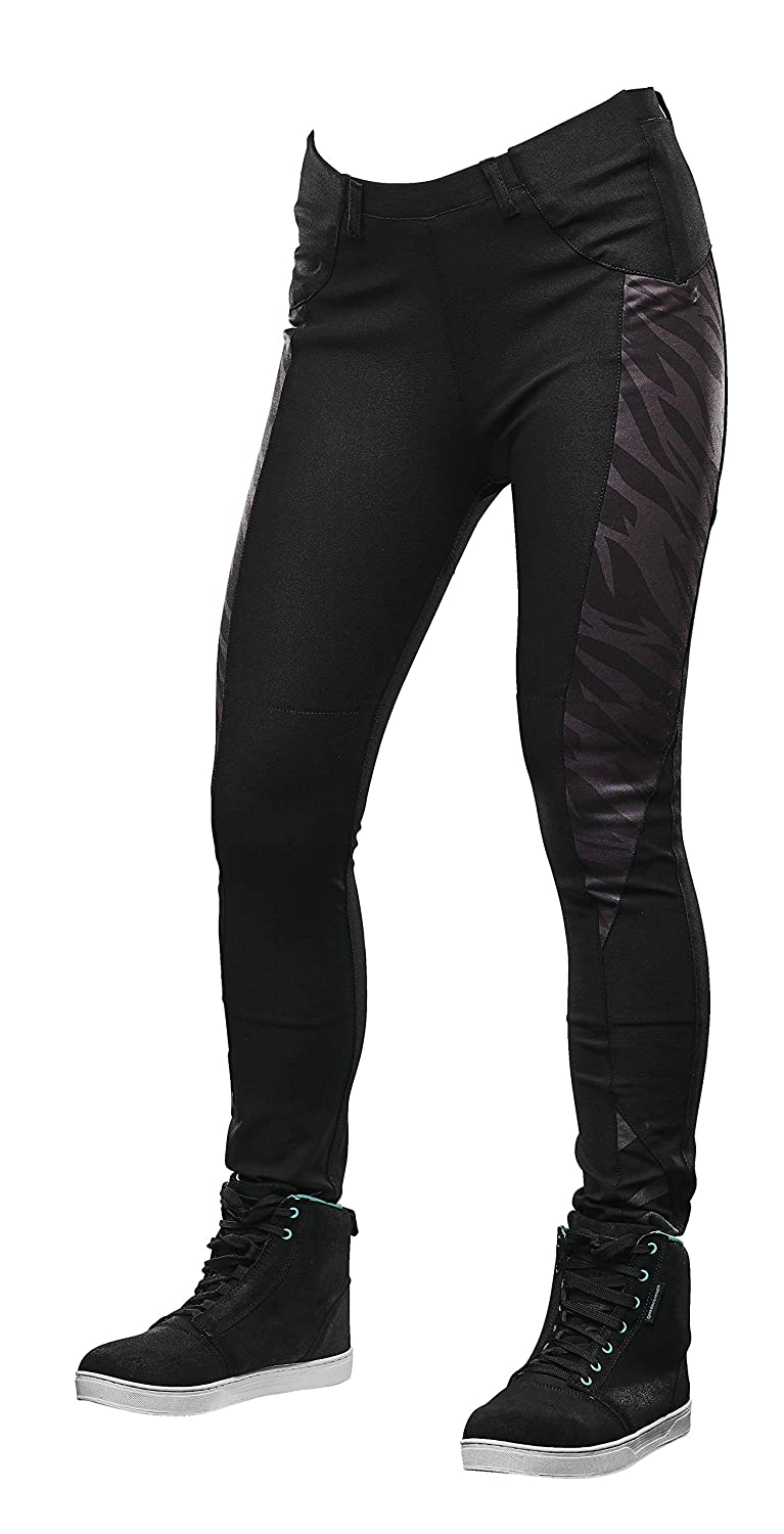 Speed and Strength Cat Outa Hell Womens Yoga Moto Pants Black 8 USA