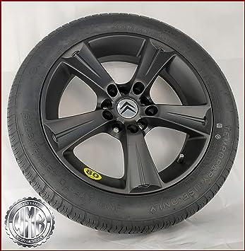 SP155112 - Rueda de repuesto de aleación + neumático 155 70 R17 para Citroën C4: Amazon.es: Coche y moto