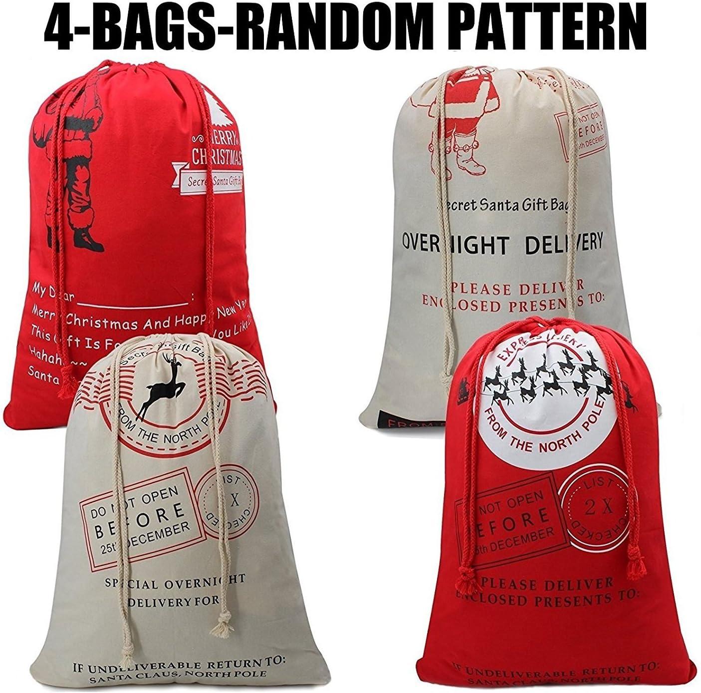 25th December Christmas Treats Santa Special Delivery Bag Santa Delivery Christmas Bag Santa Sack