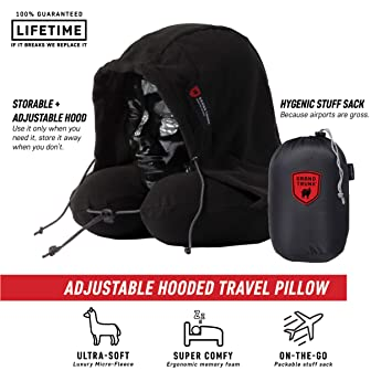 Amazon.com: Almohada de viaje con capucha Grand Trunk ...