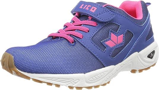 Geka Charly Vs, Zapatillas de Deporte Interior para Mujer, Azul (Blau/Pink Blau/Pink), 39 EU: Amazon.es: Zapatos y complementos