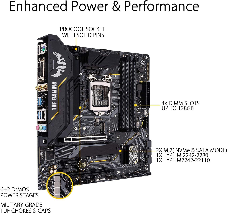 Asus Tuf Gaming B460m Plus Wifi 6 Lga1200 Micro Atx Computers Accessories