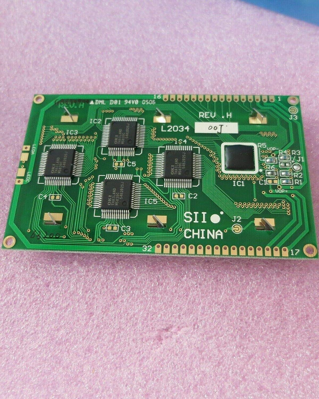 Seiko L203200P000 2x20 Character LCD Display Module
