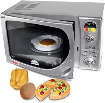 Amazon.com: Microondas Casdon electrónico, de juguete ...
