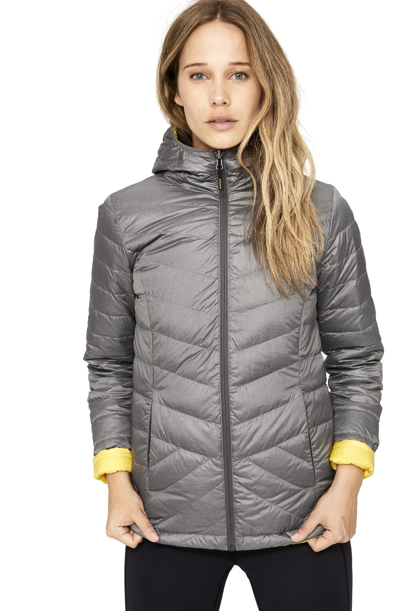 Lole Women's Emeline Reversible Jacket, X-Large, Medium Grey Heather by Lole