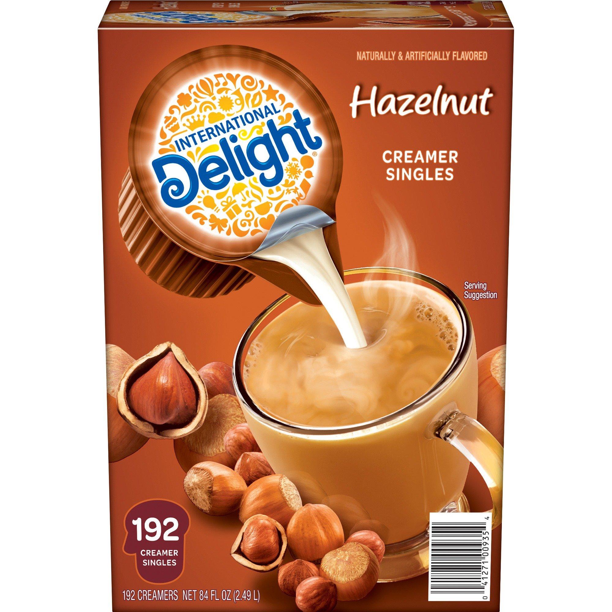 WhiteWave 100709 Liquid Coffee Creamer Intl Delight .5oz 192/CT Hazelnut by International Delight