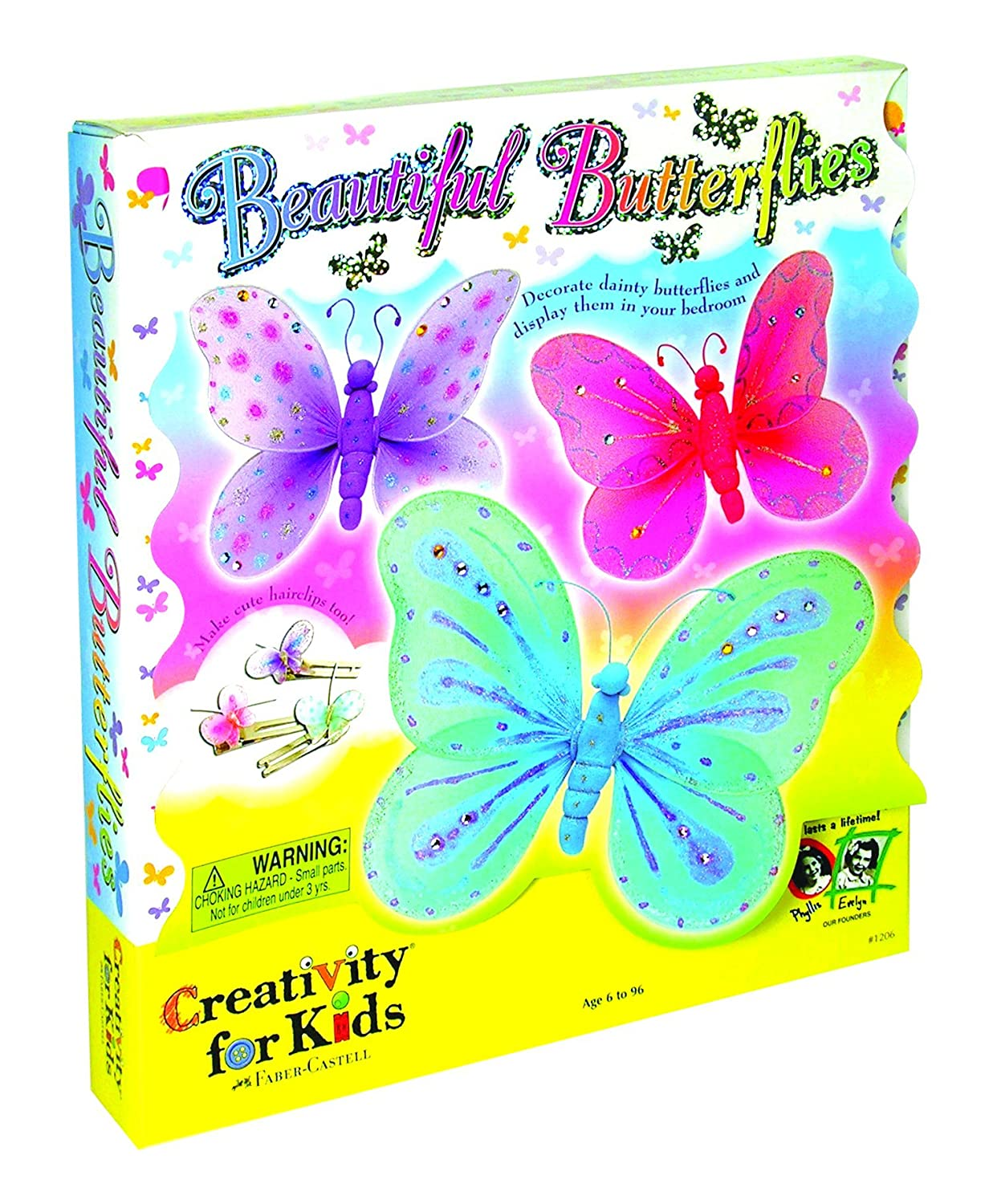 creativity for kids beautiful butterflies amazon co uk toys