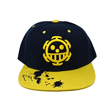 One Piece Baseball Cap Hat Anime Gift (Trafalgar D. Water Law ... 14446e69636