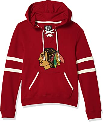 NHL Mens  OTS Grant Lace Up Pullover Hoodie