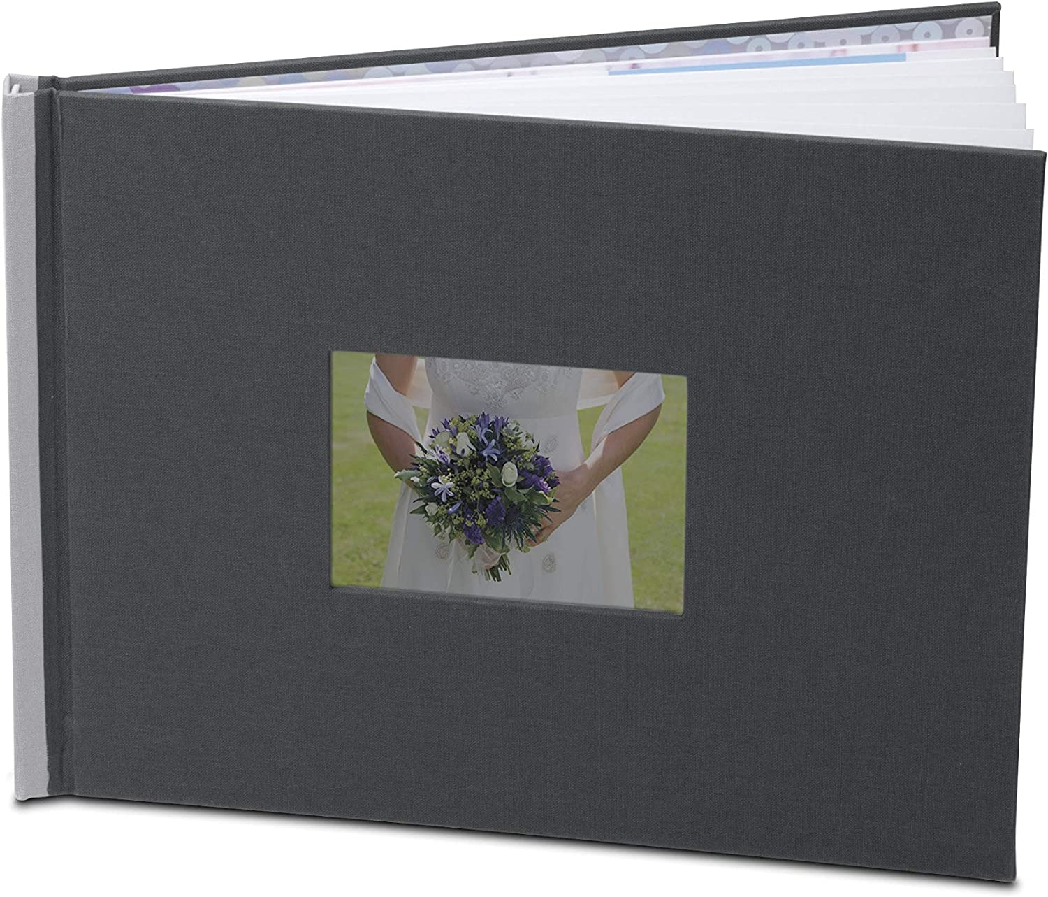 HP A4 GREY PHOTO BOOK EASILY MAKE A PROFESSIONAL-QUALITY PHOTO BOOK OF ANY OCCAS