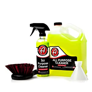 Adam's Heavy Duty All Purpose Cleaner & Degreaser - Powerful, Professional Strength Formula That Easily Cuts Heavy Grease & Tar, Tire Cleaner, Engine Bay Cleaner, and More (Collection)