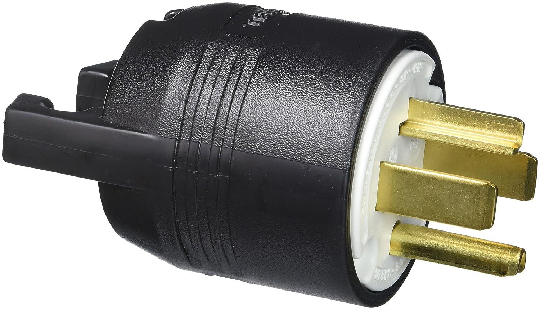 Hubbell HBL9431C Plug, 3 Pole, 4 Wire, 30 amp, 125/250V, 14-30P ...