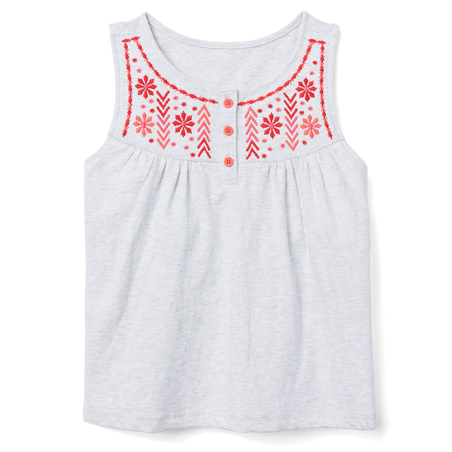 Gymboree Girls Embroidered Tank Top